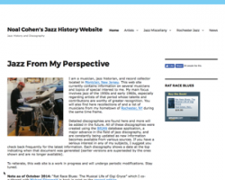 AtticToys - Noal Cohens Jazz History Website