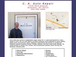 Chris Albin Auto Repair - Bozeman Montana
