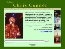 Chris Connor jazz singer