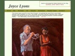 Joyce Lyons - Singer, Actress