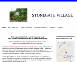 Stonegate Village condo association